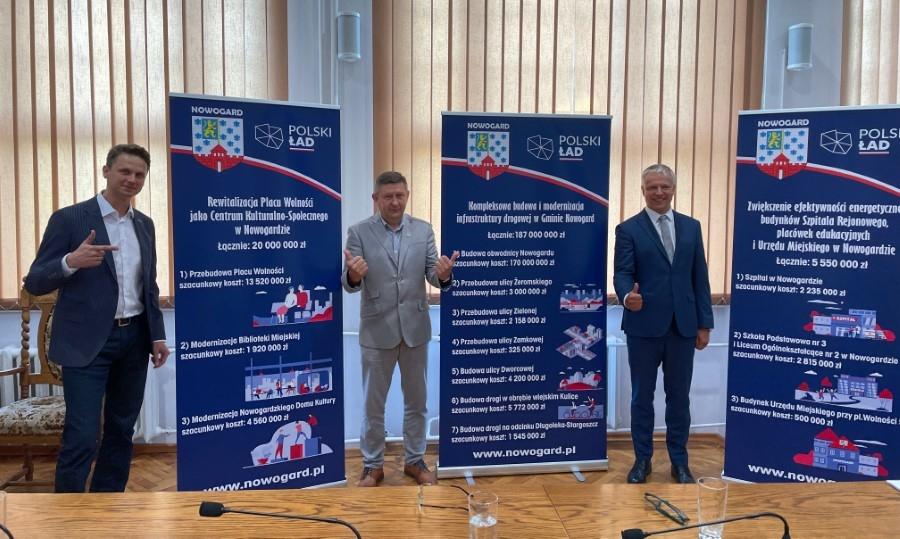 Nowogard: Polski Ład szansą na przyspieszenie rozwoju gminy