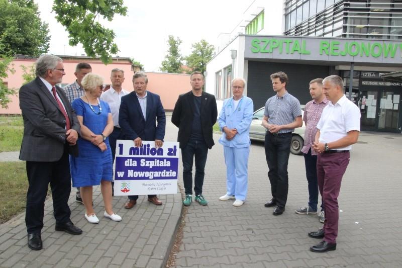 Nowogard: Ponad milion złotych na oddłużenie szpitala