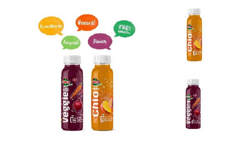 Nowość! Veggie Juice i Chia Smoothie – marka Eisberg wprowadza dwa nowe smaki!
