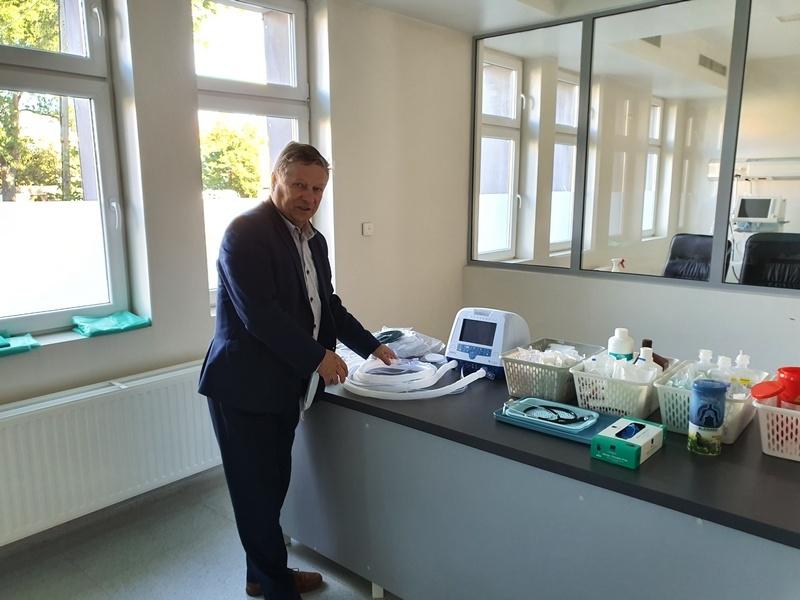 Nowy sprzęt - respiratory i kardiomonitory dla szpitala w Nowogardzie