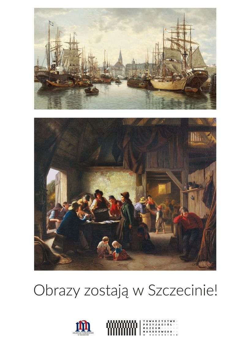 Obrazy zostają w Szczecinie!