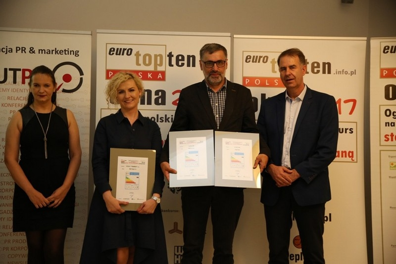 Ogłoszenie  wyników piątej edycji konkursu TOPTEN 2019 na najlepszą  stolarkę budowlaną