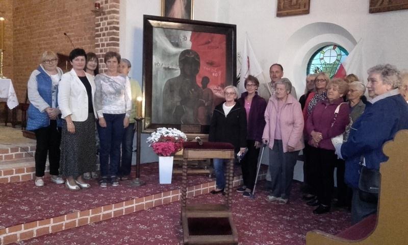 Peregrynacja Obrazu Matki Bożej Solidarności w parafii Konarzewo