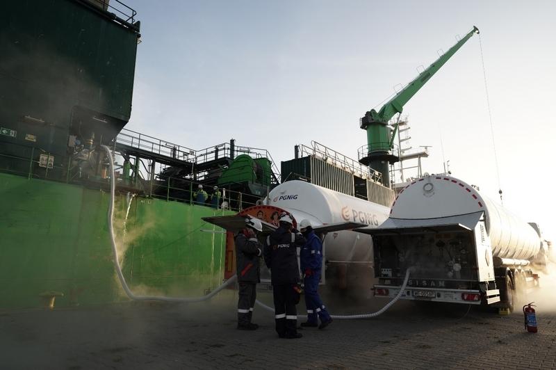 PGNiG i LOTOS: pierwsze bunkrowanie statku gazem LNG w Szczecinie