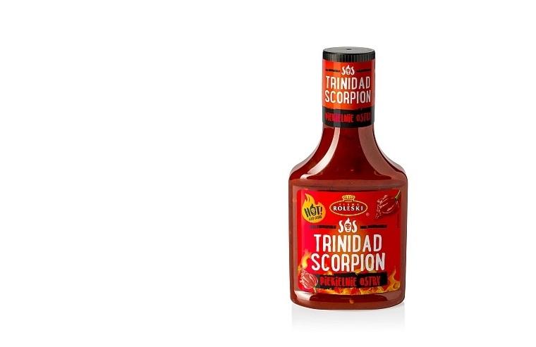 Podejmij wyzwanie z księgi rekordów Guinnessa! Sos Trinidad Scorpion od Roleski