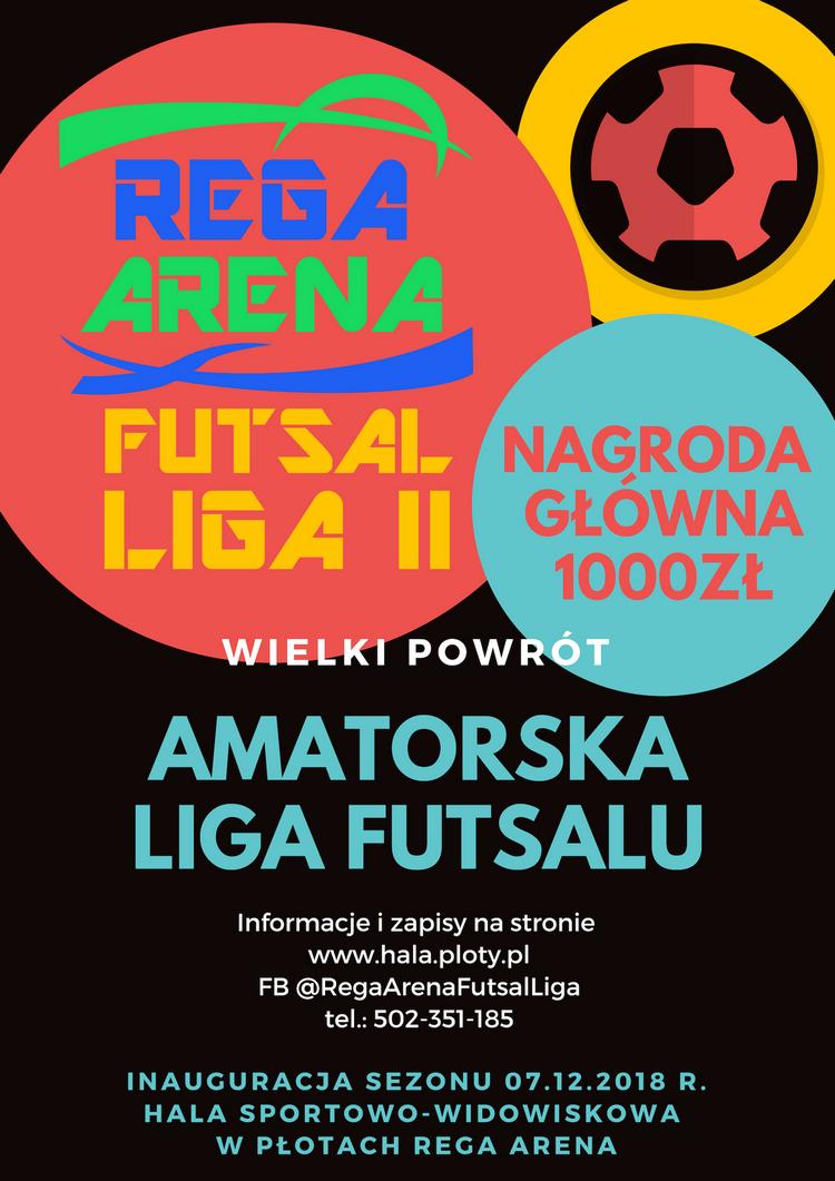 Powraca REGA ARENA FUTSAL LIGA, zgłoś swoją drużynę!