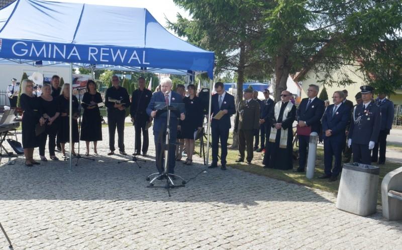 Rewal: Uroczystości dla uczczenia 82. rocznicy wybuchu II wojny światowej