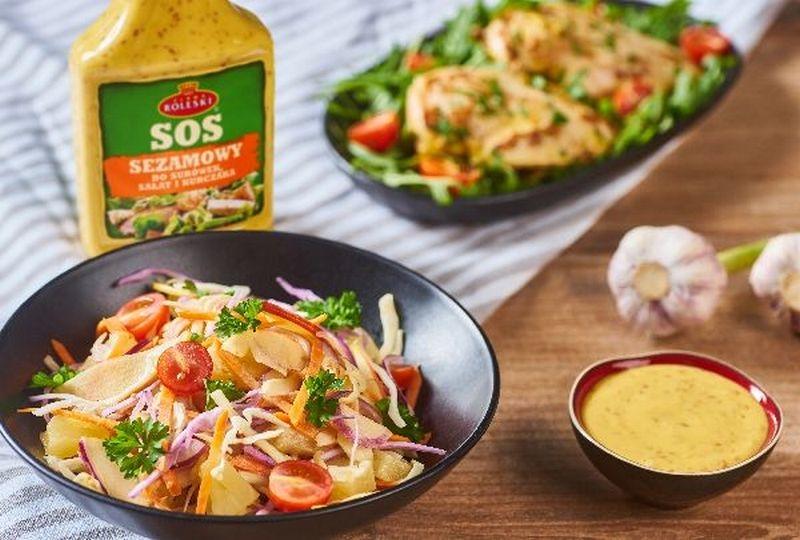Sezamie, otwórz się – i odkryj swoje smaki! Sos Sezamowy firmy Roleski do dań na zimno i na ciepło