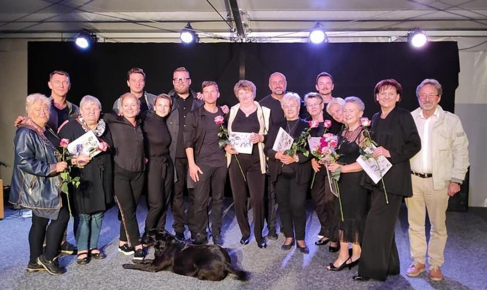 Spektakl w Wiosce Artystycznej Janowo