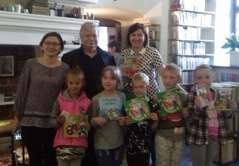 Spotkanie z autorem bajek dla dzieci – Panem Wiesławem Drabikiem
