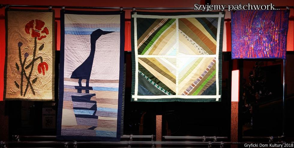 """""""Szyjemy patchwork"""" – wystawa w Gryfickim Domu Kultury"""