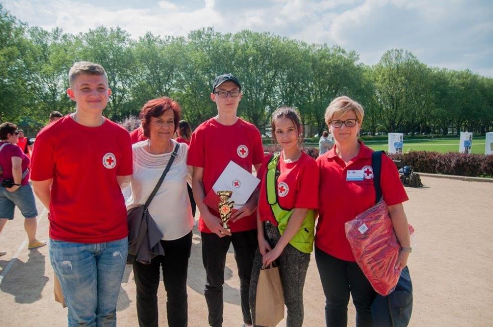 """Uczniowie """"Herberta na Okręgowych Mistrzostwach Pierwszej Pomocy PCK"""