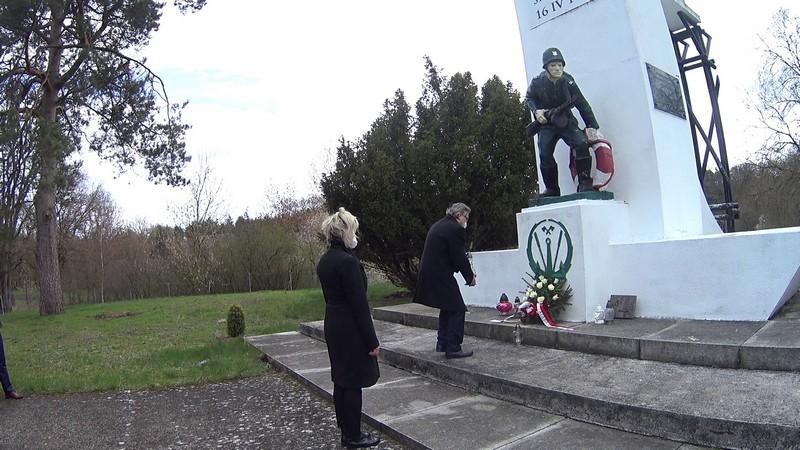 Upamiętnili 76 rocznicę forsowania Odry w drodze na Berlin