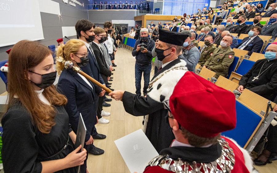 Uroczysta inauguracja roku akademickiego na ZUT
