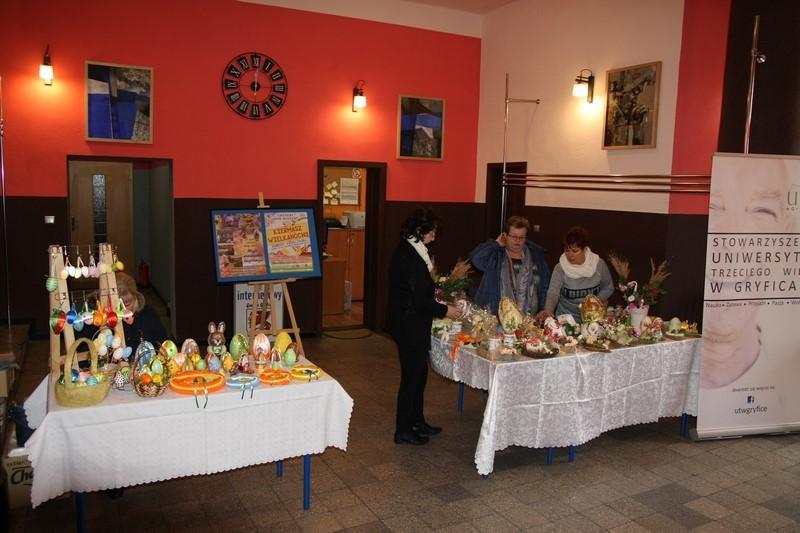 Wielkanocny Kiermasz w Gryfickim Domu Kultury