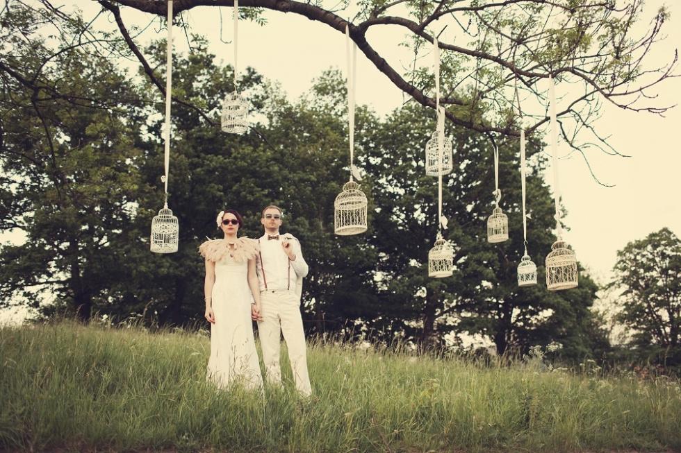 Wyjątkowe wesele w stylu boho