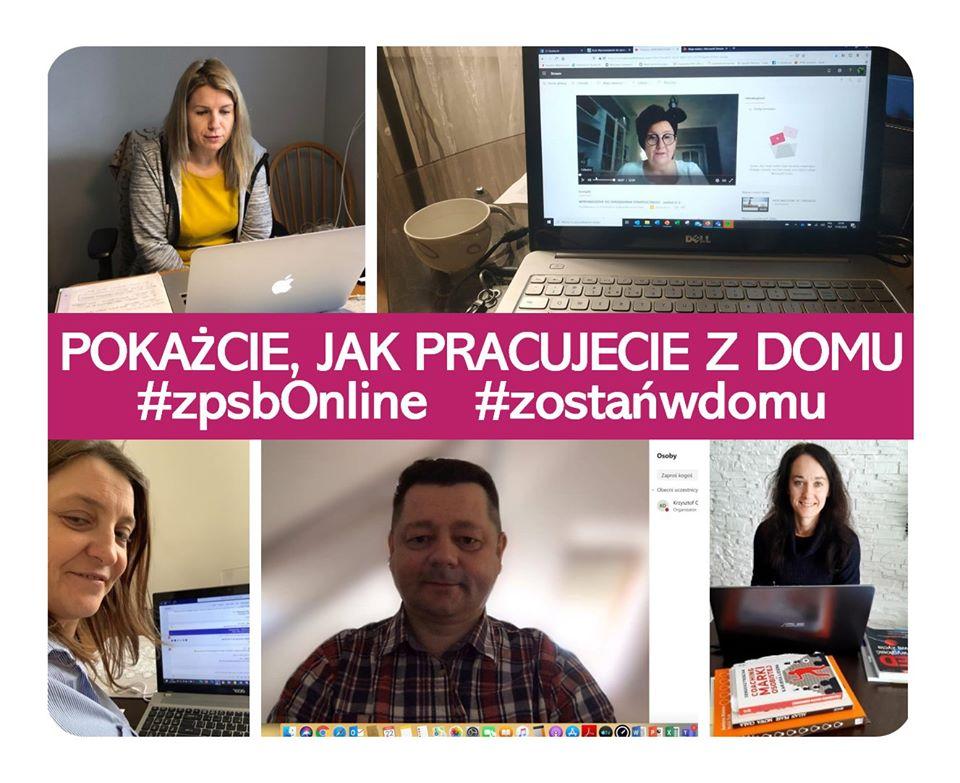 Wyzwanie przyjęte!  Zachodniopomorska Szkoła Biznesu prowadzi zajęcia całkowicie online