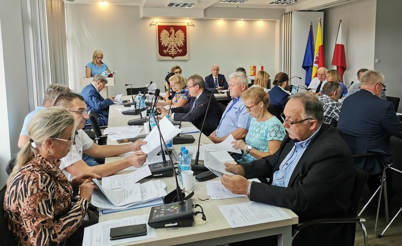 XI Sesja Rady Miejskiej w Gryficach
