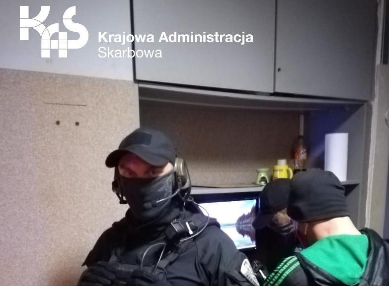 Zachodniopomorska KAS zamknęła kolejny nielegalny punkt hazardowy