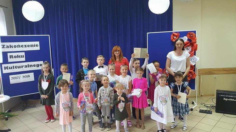 Zakończenie roku kulturalnego 2017/2018 w Domu Kultury w Płotach