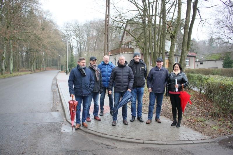 Zakończył się remont chodnika przy ul. Wojska Polskiego