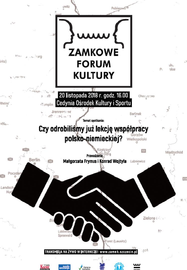 Zamkowe Forum Kultury o współpracy polsko-niemieckiej