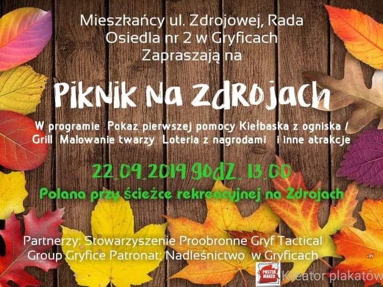 Zaproszenie:  Piknik na Zdrojach