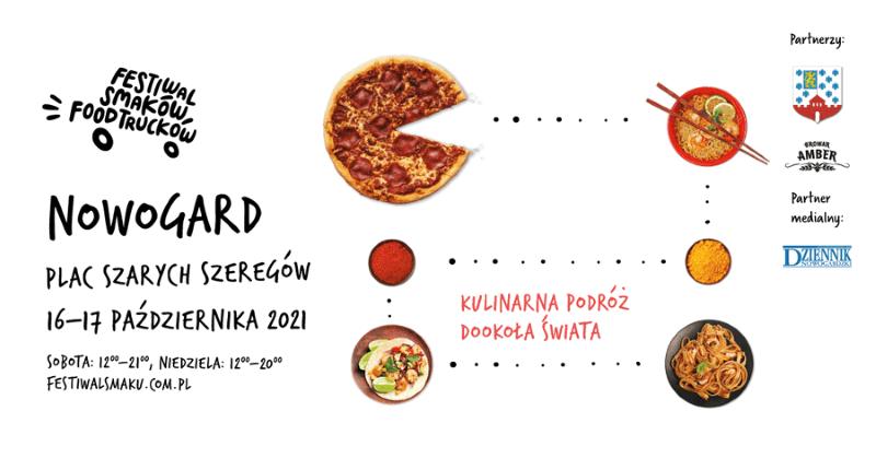 Festiwal Smaków Food Trucków przyjedzie do Nowogardu!