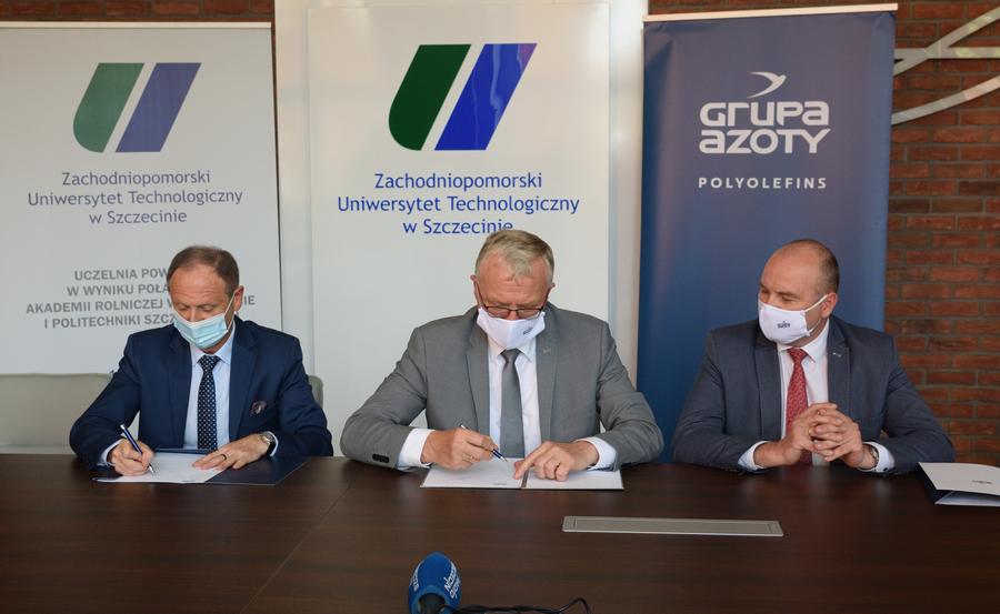 ZUT i Grupa Azoty Polyolefins S.A. podpisały porozumienie o współpracy…