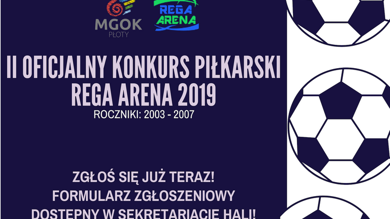 Rega Arena zaprasza na konkurs piłkarski