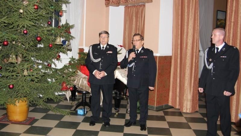 Spotkanie wigilijne strażaków z OSP z gminy Gryfice