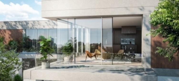 Atrakcyjna fasada i niecodzienne wnętrze, czyli okna narożne w projekcie domu