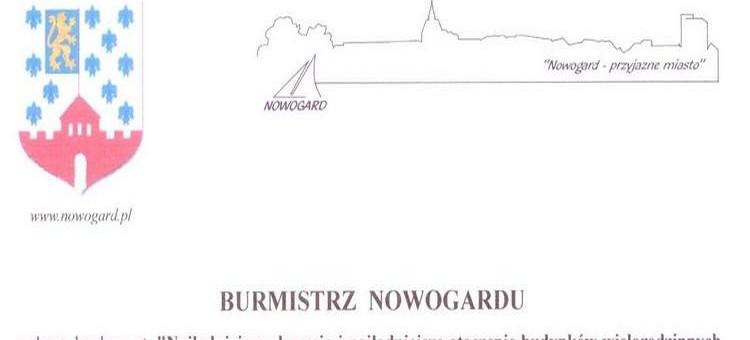 BURMISTRZ  NOWOGARDU