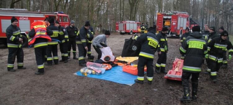 Strażacy ćwiczą działania na wypadek zagrożeń oraz sprawdzają w praktyce nowy sprzęt