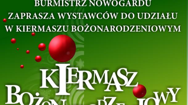 Nowogard - Zaproszenie na Kiermasz Bożonarodzeniowy