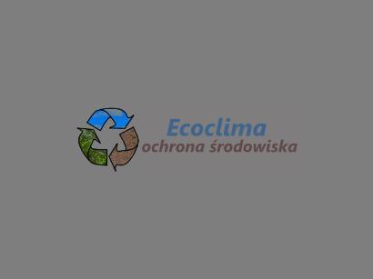 Ecoclima - ochrona środowiska, audyty, pozwolenia, raporty