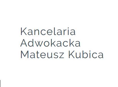 Kancelaria Adwokacka Mateusz Kubica