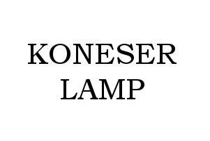Koneser Lamp
