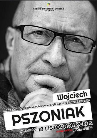 MBP w Gryficach - Spotkanie z Wojciechem Pszoniakiem
