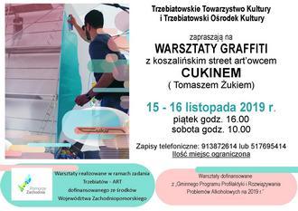 Zaproszenie na Warsztaty Graffiti