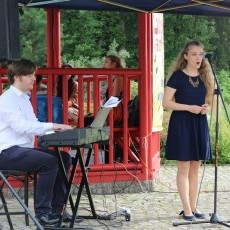 Julita Kożuszek-Borsuk - koncert w Ogrodzie Japońskim