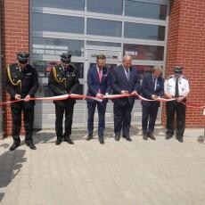 Gryfice: Nowa siedziba PSP - Wojewódzkie obchody Dnia Strażaka